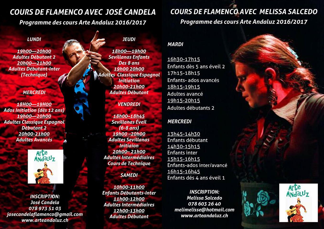 cours de flamenco ArteAndaluz